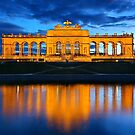 The Gloriette - Schonbrunn palace, Vienna by Hercules Milas