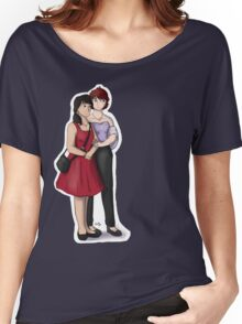 Young Couple Women's Relaxed Fit T-Shirt