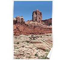 Rock Formations 2 Arches National Park Poster