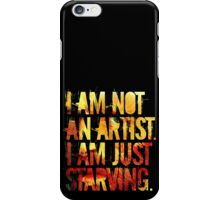 van gogh excuses himself and promptly repairs to the corner sari-sari store iPhone Case/Skin