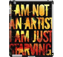 van gogh excuses himself and promptly repairs to the corner sari-sari store iPad Case/Skin