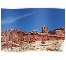 Rock Formations 3 Arches National Park Poster