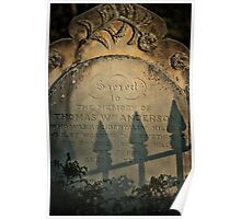 In Memory of the Past - Hill End NSW Poster