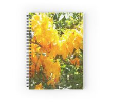 Azalea yellow Spiral Notebook