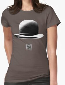 magritte Womens Fitted T-Shirt