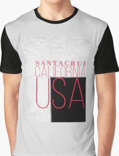 SANTA CRUZ CALIFORNIA USA Graphic T-Shirt