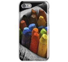 Art of crayons iPhone Case/Skin