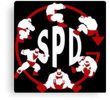 SPD - Spinning Piledriver  Canvas Print
