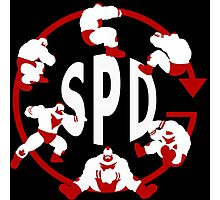 SPD - Spinning Piledriver  Photographic Print