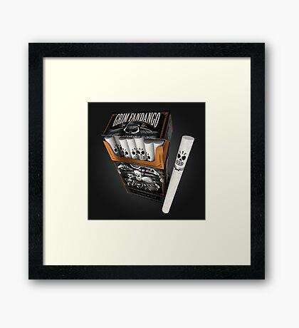 GRIM FANDANGO – Calavera's Choice Framed Print