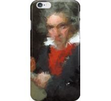 the abstract beethoven iPhone Case/Skin