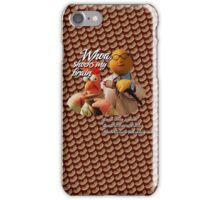 Phish Meatstick Muppets Mustard Yellow iPhone Case/Skin
