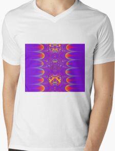FRACTAL # 4 ~ ABSTRACT ~ COLORFUL Mens V-Neck T-Shirt