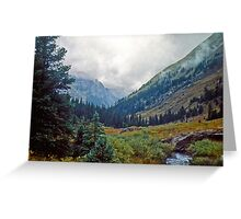 Wind Rivers I Greeting Card
