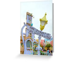The Street of the Lifted Lorax Greeting Card
