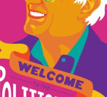 Welcome to the Political Revolution Sticker