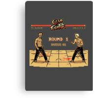 Club Fighter Canvas Print
