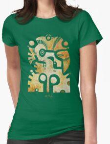 Aztek Adler und Taube Womens Fitted T-Shirt
