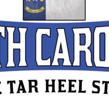 NORTH CAROLINA THE TAR HEEL STATE FIRST IN FLIGHT CHARLOTTE Sticker