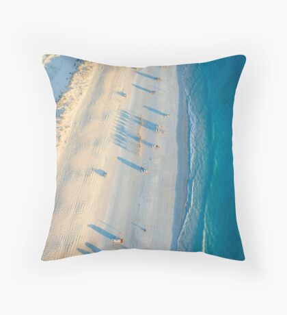 cable beach areall sunset  Throw Pillow
