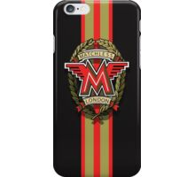 Matchless Vintage Motorcycles Racing Stripe iPhone Case/Skin