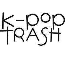 kpop trash Photographic Print