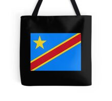 CONGO, African, Flag, Congolese, Africa, Democratic Republic of the Congo Tote Bag