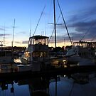 Fishing Boats ~ Waterfront Evening  by SummerJade