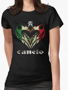 Love Canelo Womens Fitted T-Shirt