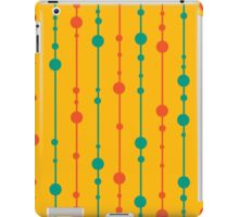 Yellow, green and red pattern iPad Case/Skin