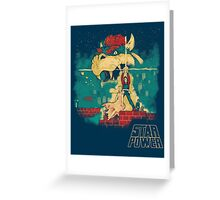 STAR POWER Greeting Card