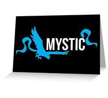 Pokemon Go Team Mystic Greeting Card