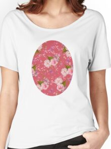 Floral Blossoms Women's Relaxed Fit T-Shirt