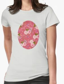Floral Blossoms Womens Fitted T-Shirt
