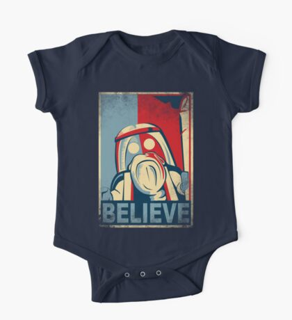 BELIEVE One Piece - Short Sleeve