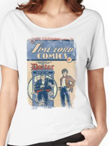 Time Lord Comics Women's Relaxed Fit T-Shirt