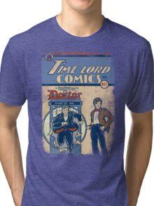Time Lord Comics Tri-blend T-Shirt