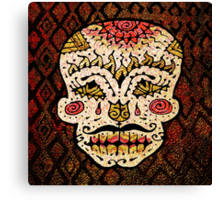 'Sweet Sugar Skull #2' Canvas Print
