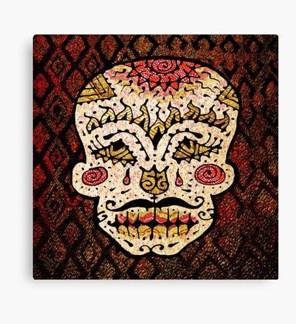 'Sweet Sugar Skull #2' Canvas Print