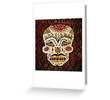'Sweet Sugar Skull #2' Greeting Card