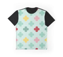 Colored crosses Graphic T-Shirt