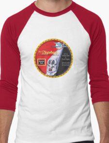 Burlington Rail Zephyr Train Men's Baseball ¾ T-Shirt