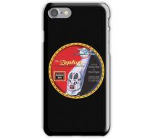 Burlington Rail Zephyr Train iPhone Case/Skin