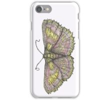 Purple Bordered Gold Moth  iPhone Case/Skin