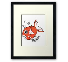 M for M-agikarp Framed Print