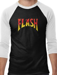 Flash Gordon - Red/Yellow Logo Men's Baseball ¾ T-Shirt