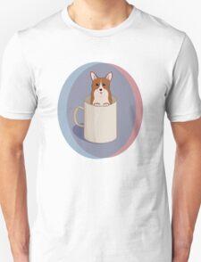 A cup of corgi Unisex T-Shirt