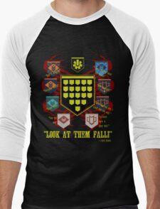 Look at them fall! Men's Baseball ¾ T-Shirt