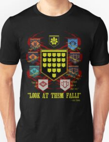 Look at them fall! Unisex T-Shirt