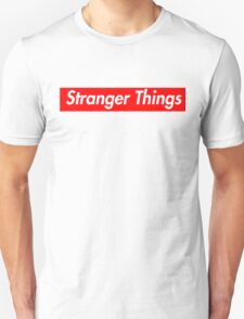 stranger things supreme logo Unisex T-Shirt